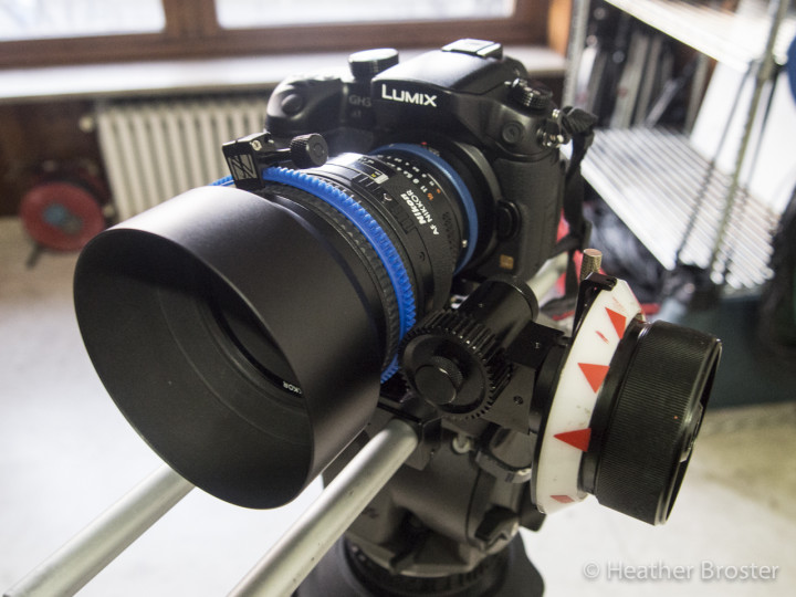 GH3 set up with the Genus Follow Focus