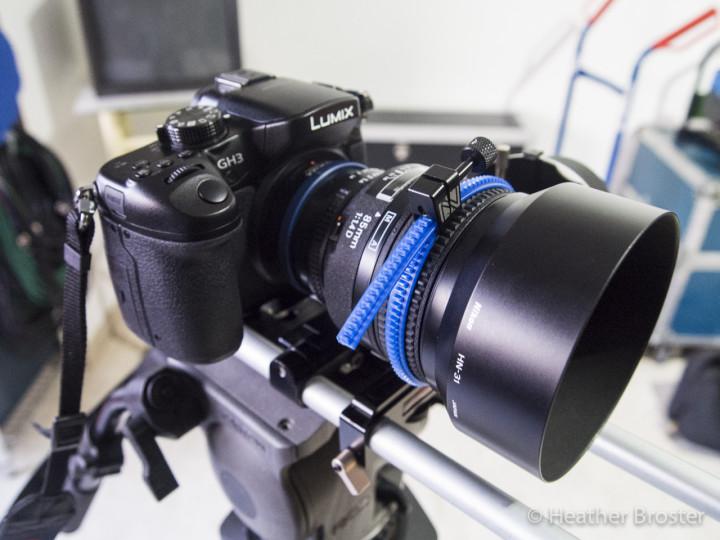 The GH3 with Nikkor AF-D 85mm f/1.4