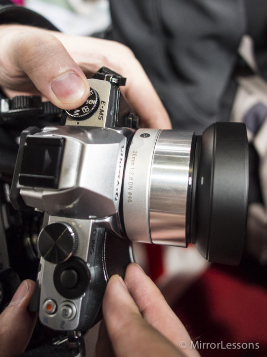 The Sigma 30mm f/2.8 DN A silver edition