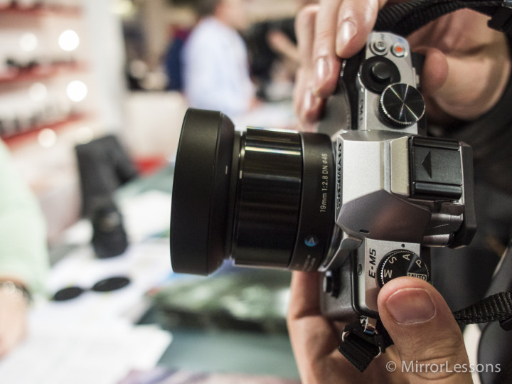 The Sigma 19mm f/2.8 DN A black edition on my OM-D E-M5