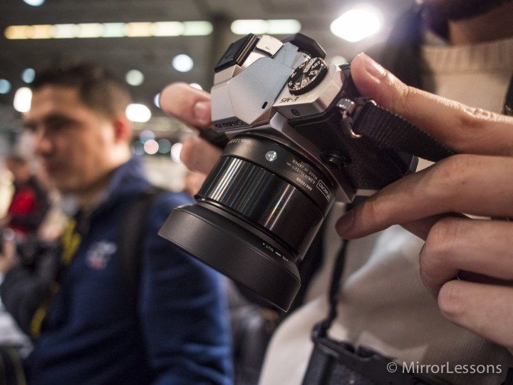 The Sigma 30mm f/2.8 DN A black edition