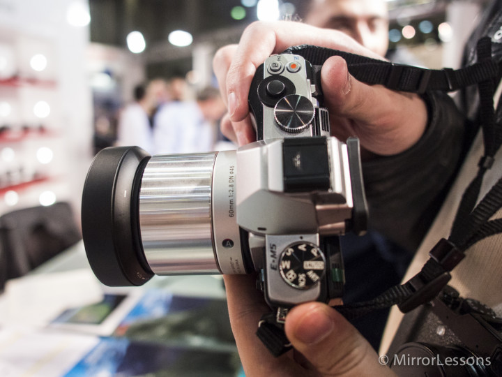 The Sigma 60mm f/2.8 DN A silver edition