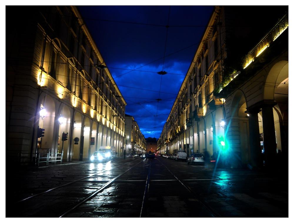 The Torino city centre.