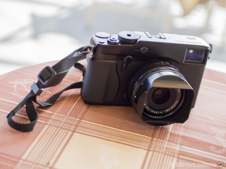 X-Pro 1 with the 18mm f/2