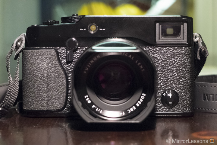 X-Pro 1 front view