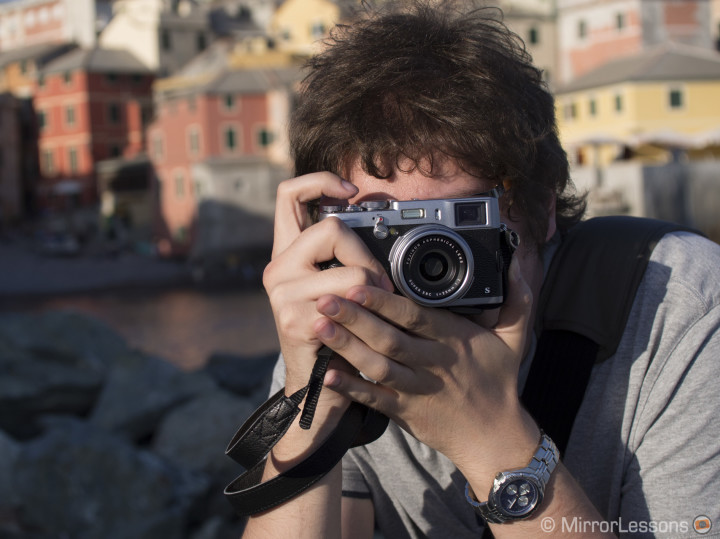 """After my X-Pro1 battery died, I took some last shots of the day with the """"always with me"""" X100s."""