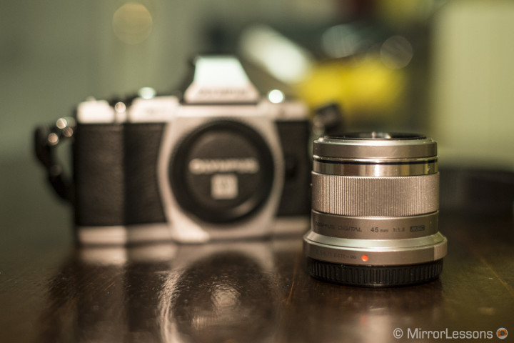 The M.Zuiko 45mm f/1.8