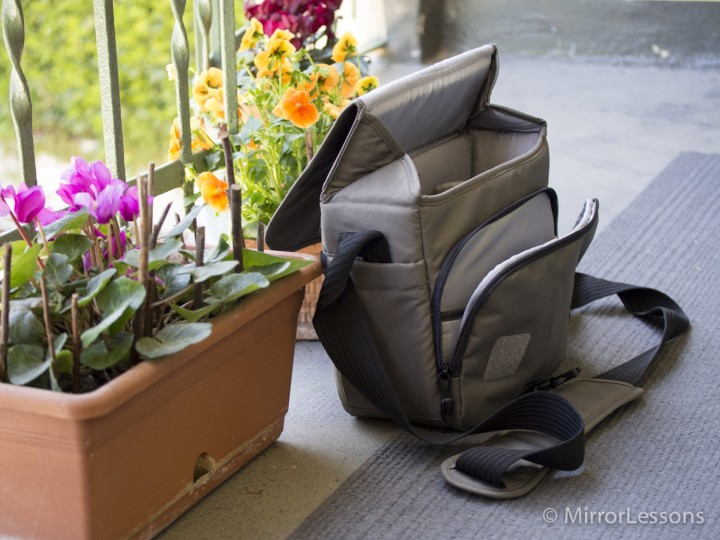 The stylish LowerPro out in the sun...