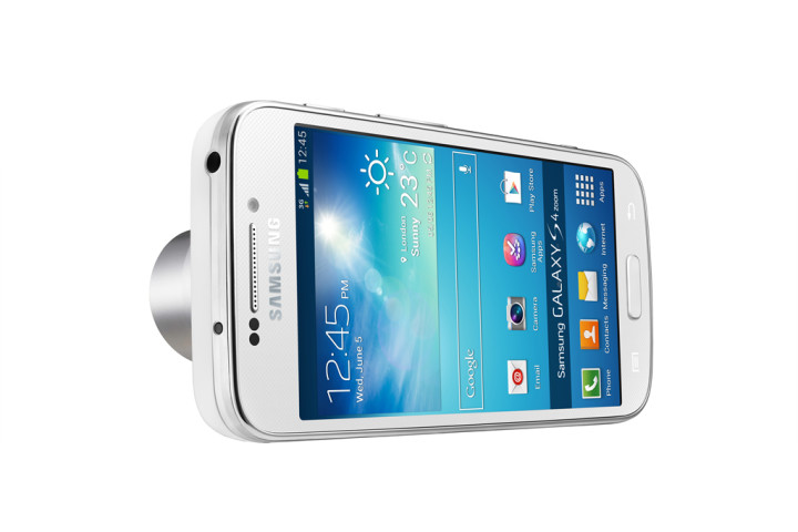 The Samsung Galaxy S4, an advanced smartphone...