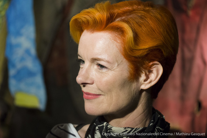 E-M5, 1/100, f/ 2.8, ISO 1600Sandy Powell, three times accademy award winner for custom design at the opening of the Martin Scorsese exhibition.