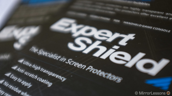 Review of the Expert Shield Screen Protector for the X100s and E-M5