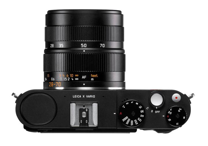 The new Leica X Vario (Mini M) top view