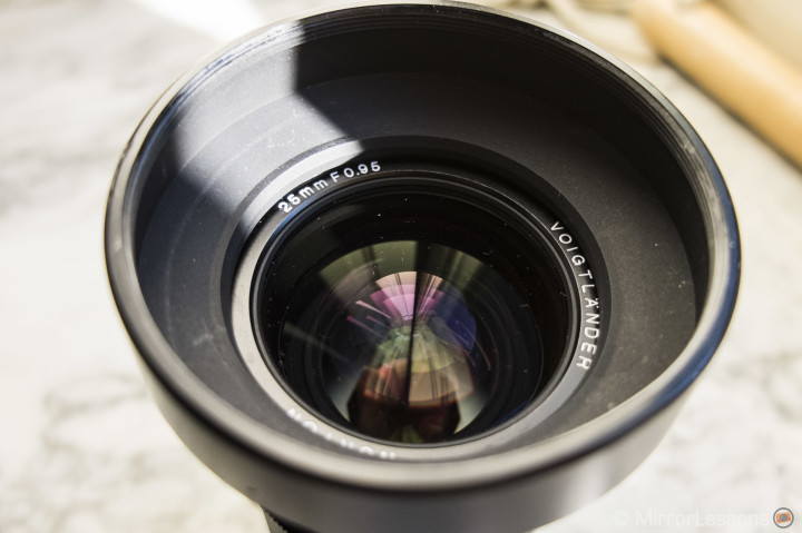 The metal lens hood