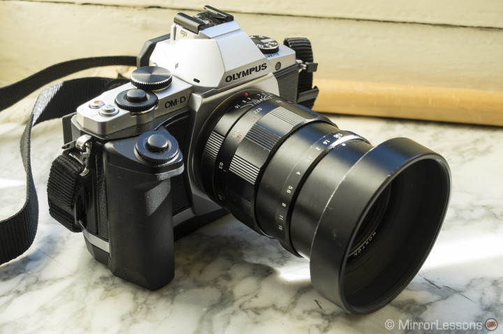 The Nokton 25mm f/0.95 on the OM-D E-M5