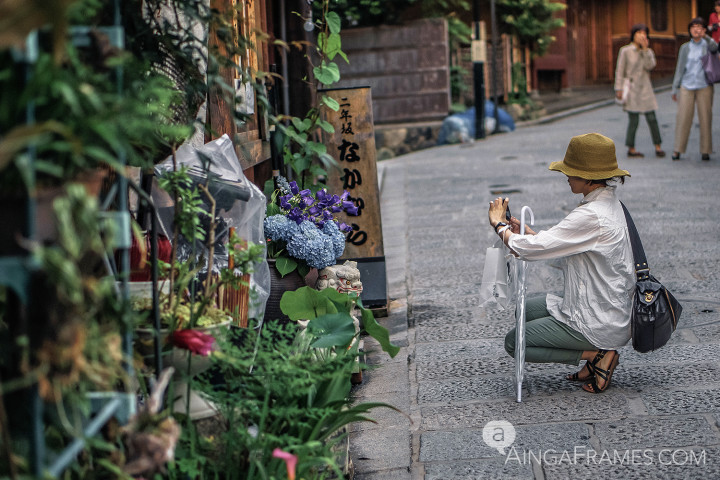 Higashiyama is a popular destination in Kyoto, it is one of the few places where the traditional streetscape of the Edo period is neatly preserved. The streets of Higashiyama are lined with lovely Japanese style houses, small teahouses, and charming boutiques.