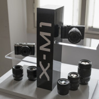 The X-M1 stand