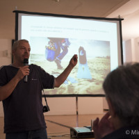 Max Angeloni delivers a presentation about the X-M1
