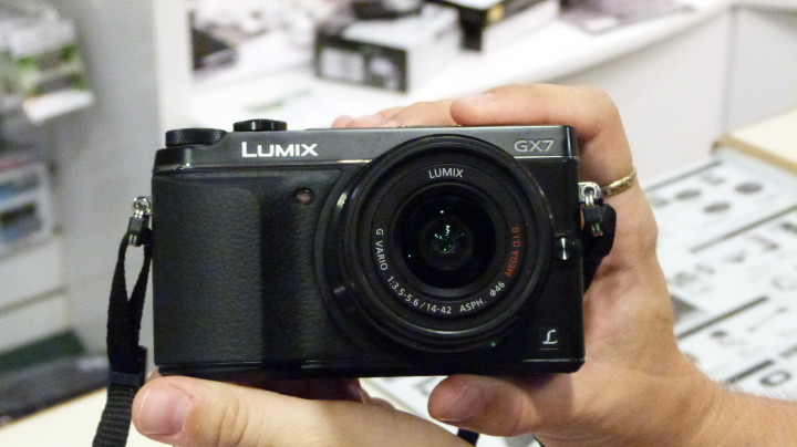 The new GX7 in my hands at last