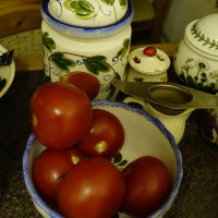 Tomatoes DSC-RX100M2, 1/80, f/ 4, ISO 6400  - On Camera JPG