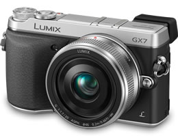 The new Panasonic Lumix DMC-GX7