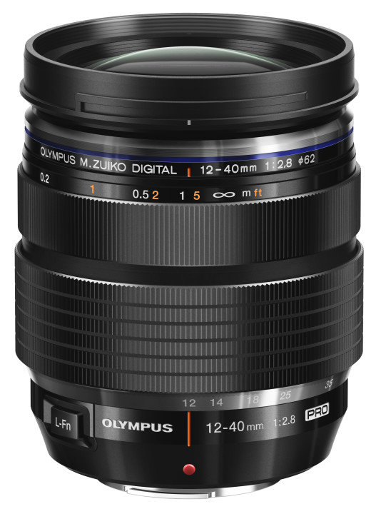 The new M.Zuiko 12-40mm f/2.8