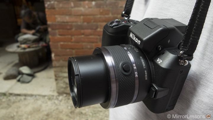 The Nikon 1 V2 with 10-30mm f/3.5-5.6
