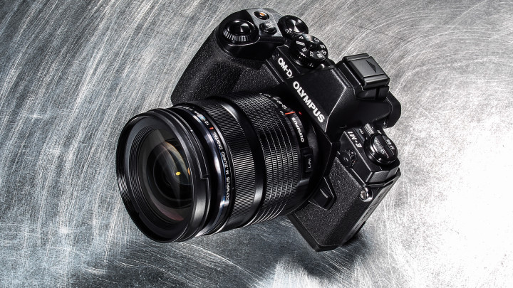 The new OM-D E-M1 with the new 12-40mm f/2.8 attached.