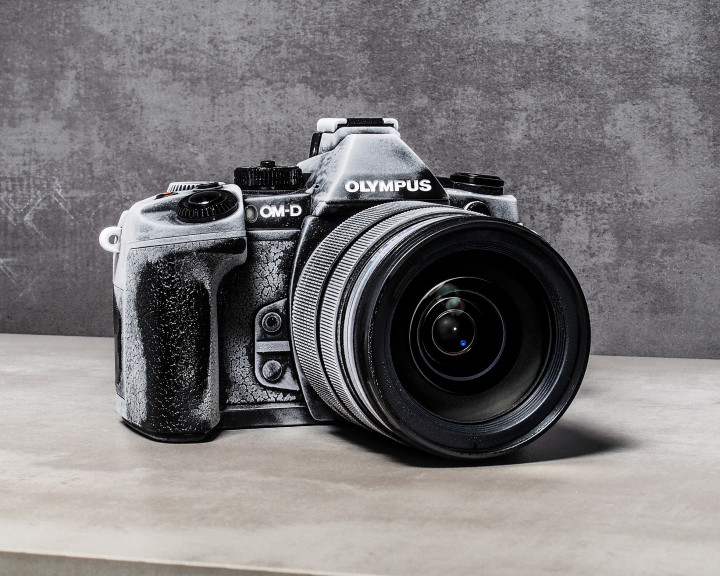 The new E-M1 is freeze proof.