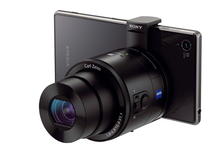 The Sony QX100 on the new Sony Xperia Z1