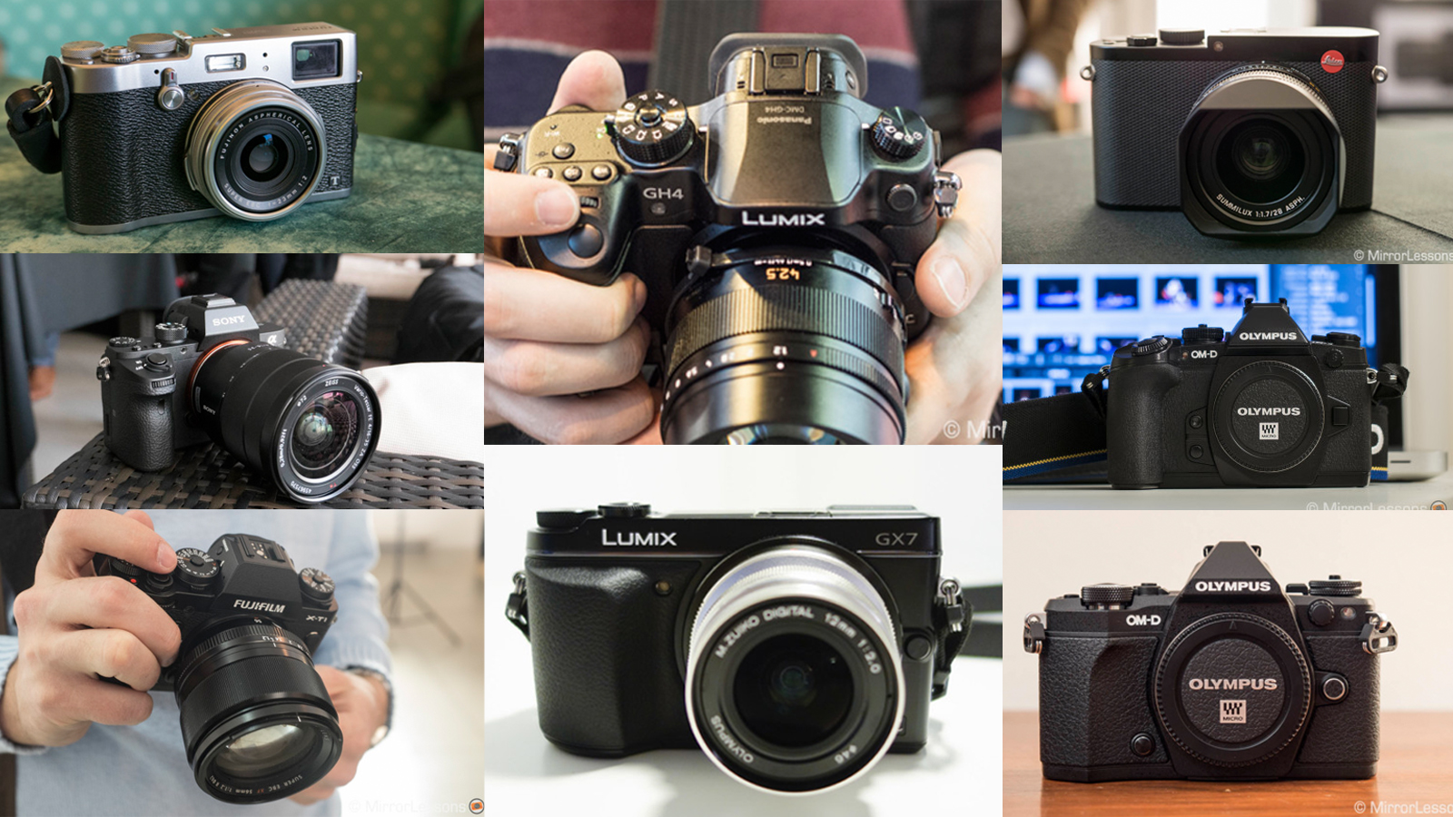 best mirrorless cameras 2015