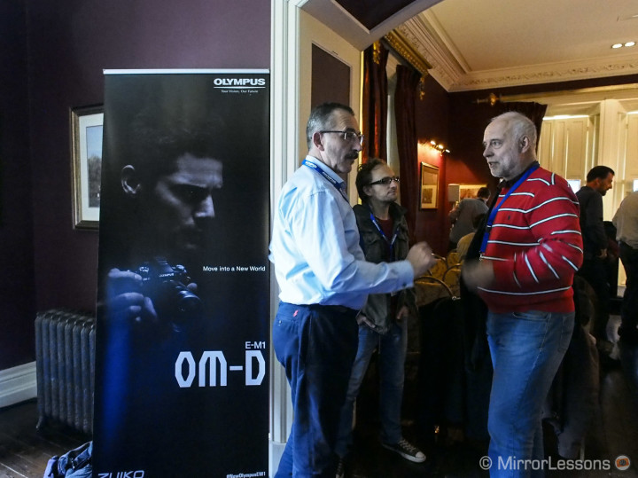 Waiting for the OM-D E-M1 presentation