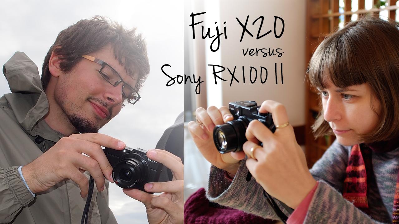 fuji-x20-vs-sony-rx100II