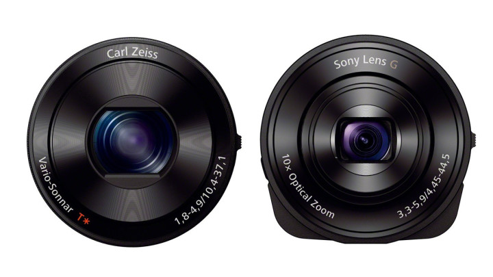 The Sony QX Lenscamera: The replacement for a dying compact camera market?