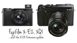 The Fujifilm X-E2 and XQ1 become official and the X100 gets a boost