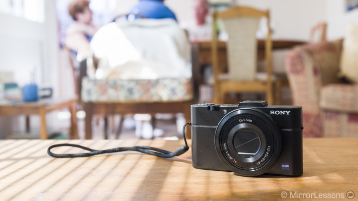 mirrorless sony camera