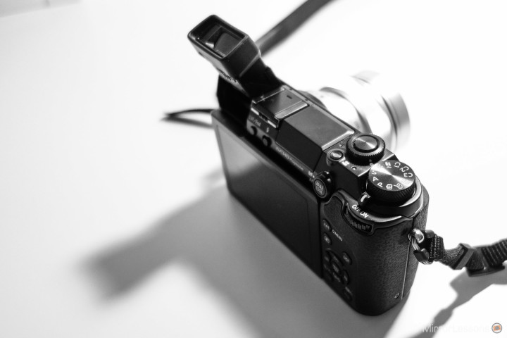 The tilting EVF