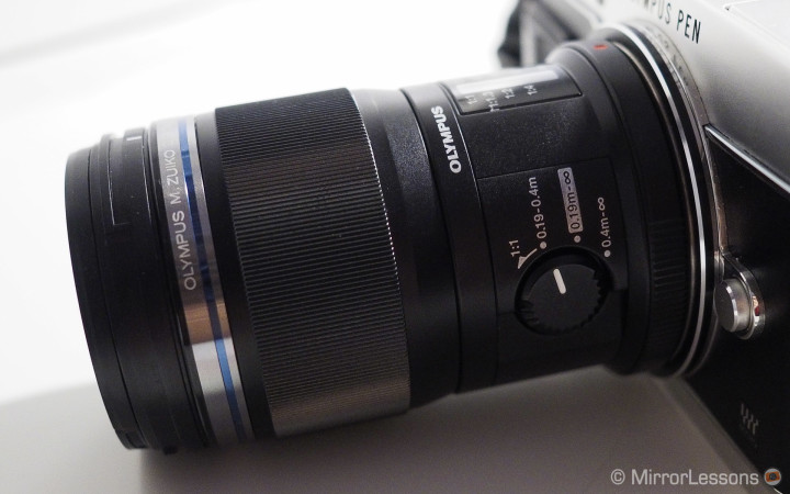 The 60mm f/2.8 without the lens hood.