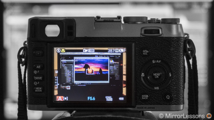 Behind the Photograph – One evening on the rocks with the Fujifilm X100s