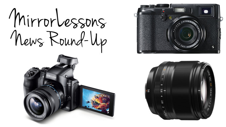 News Round-Up: Fujinon XF 56mm f/1.2, Black X100s and Samsung NX30 with two 16-50mm zooms