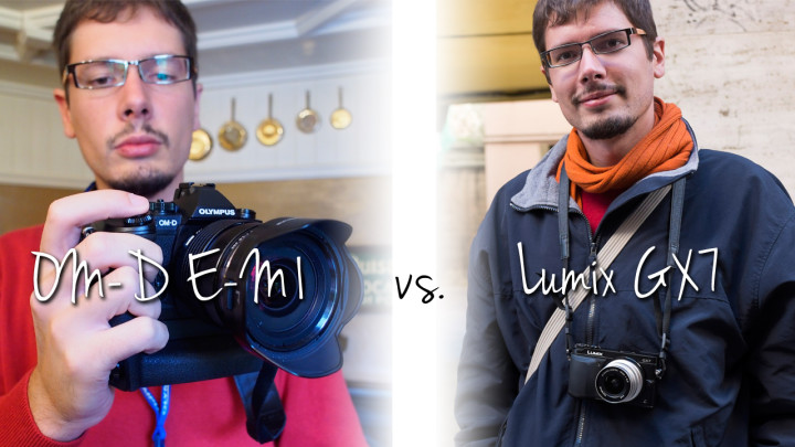 The Battle of the Pros: Olympus OM-D E-M1 vs. Panasonic Lumix GX7