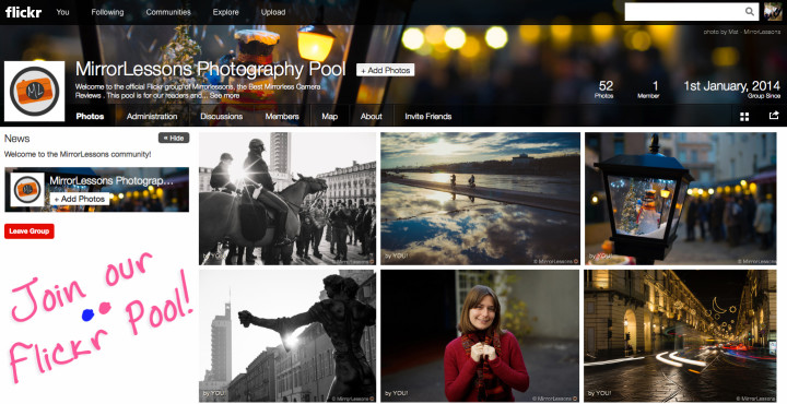 Join our Flickr Pool!