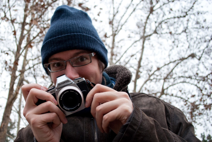 Mathieu takes the E-M5 out on its first photo walk