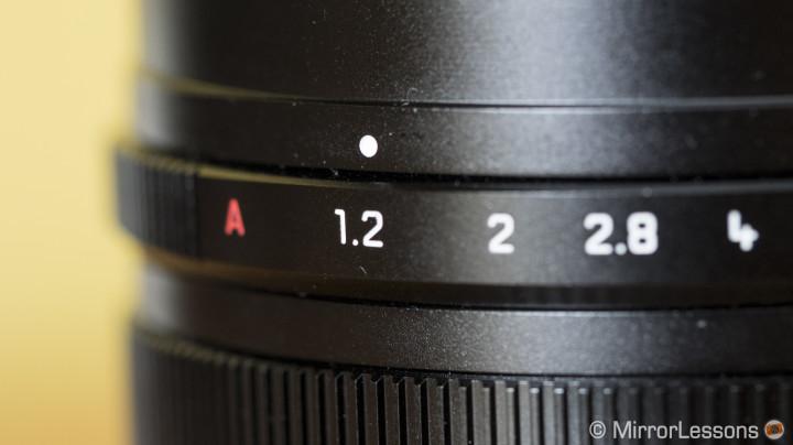 aperture equivalent sensor size