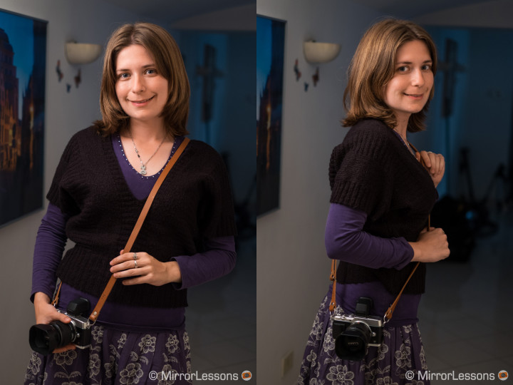 The right way to use the Figosa adjustable strap.