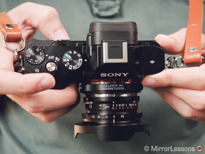 The Sony A7s with the Voigtlaender Ultra Wide Heliar 12mm f/5.6