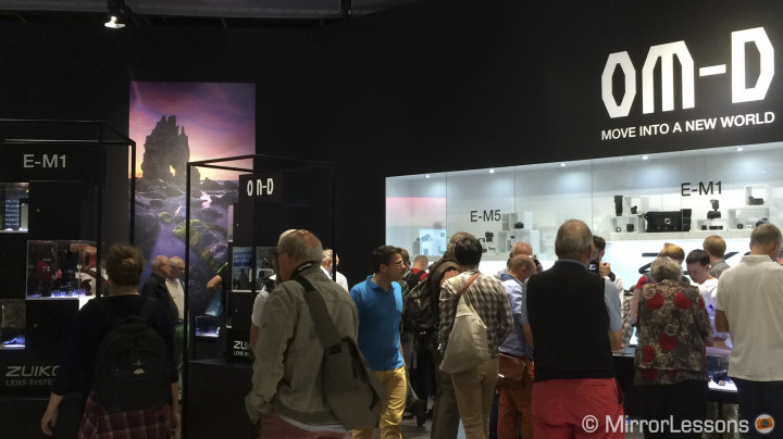 Photokina 2014: Interview with Olympus Europe: selfies, OM-D, lenses, pro support and video
