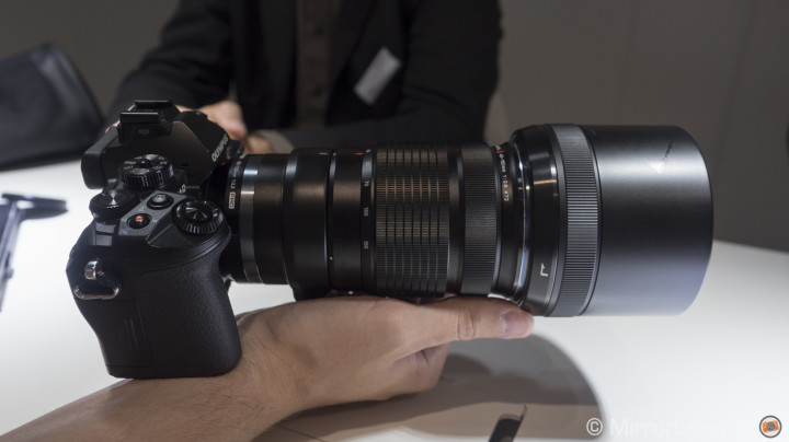 Photokina 2014: Hands-On with the new Olympus 40-150mm f/2.8 Pro and more