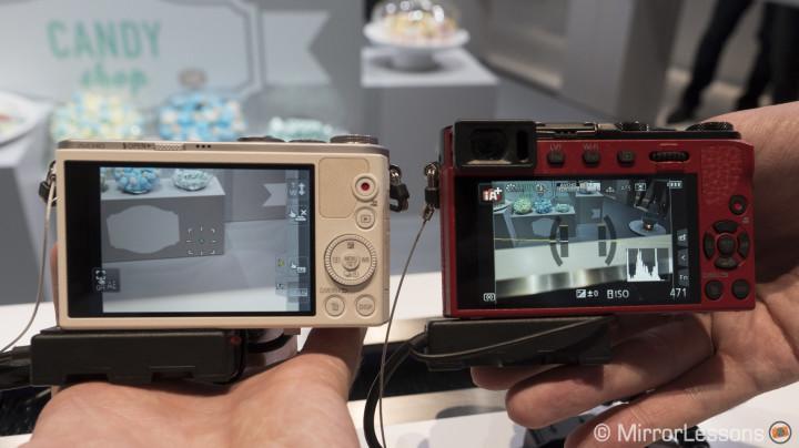 gm1 gm5 smallest mirrorless camera