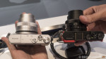 Which are the smallest mirrorless cameras in the world today?