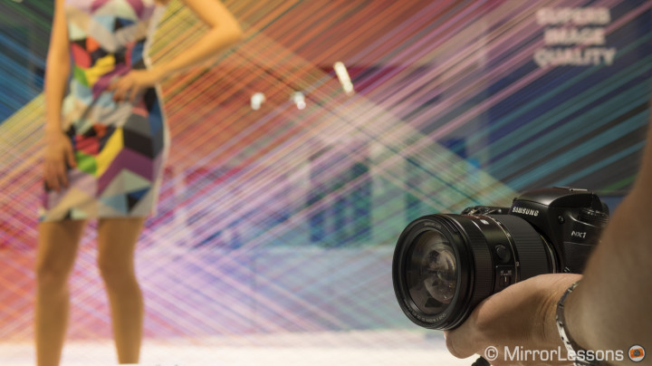 Photokina 2014: Hands-on with the new Samsung NX1